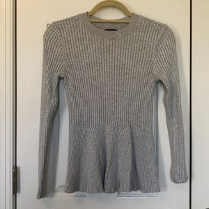 Gray sweater small